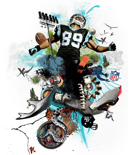 MINGA | NFL and Reebok