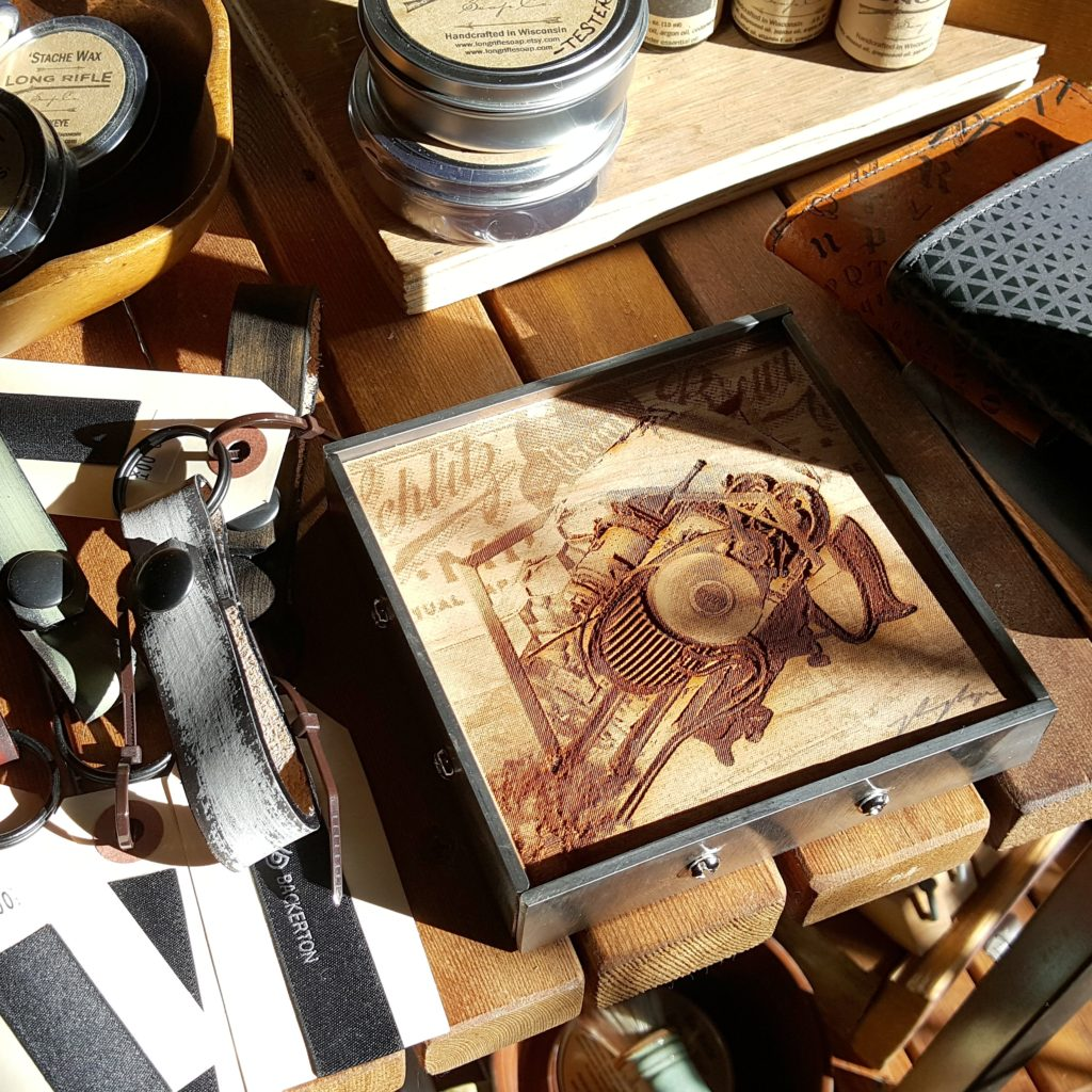 MINGA | Lighter Than MKE Laser Engravings